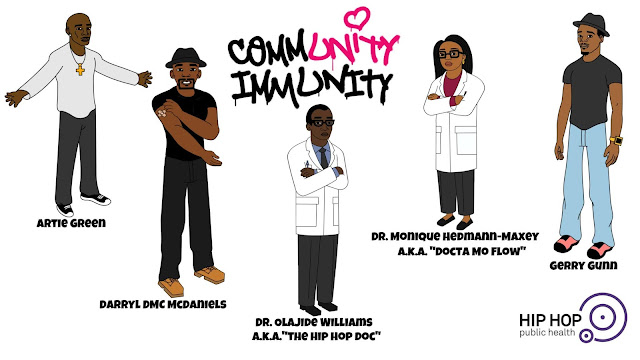 Hip Hop Public Health Launches #CommunityImmunity Vaccine Literacy Effort