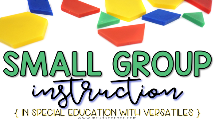 Small Group Instruction with VersaTiles – Versatiles Worksheets
