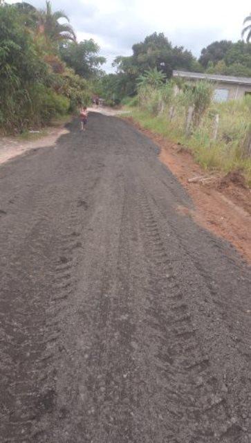 Prefeitura de Registro-SP faz manutenção de ruas do bairro Agrochá