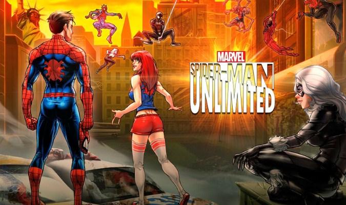 Game Superhero Terbaik tuk Smartphone Android - Marvel Spider-Man Unlimited