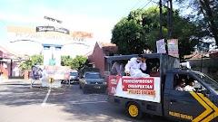 Cegah COVID-19, Jalan di Kota Batang Disemprot Disinfektan