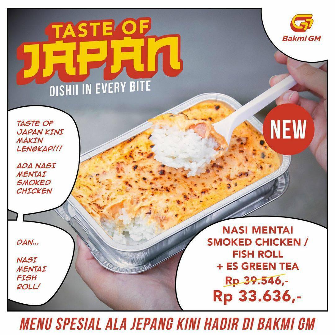 Promo Bakmi GM Taste of Japan - harga Rp. 30 Ribuan per paket