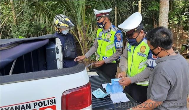 Sampai Hari ke-12, Ops Lodaya Tindak 770 Pelanggar Lalin