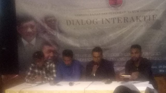Dialog Interaktif LKPHI Bersama Awak Media