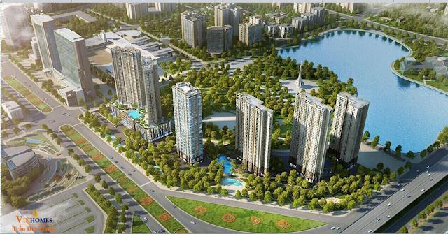 Chung cư Vinhomes D'.Capitale Trần Duy Hưng