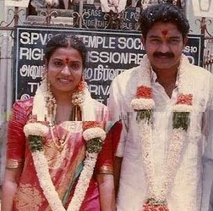 Jeevitha  Family Husband Parents children's Marriage Photos