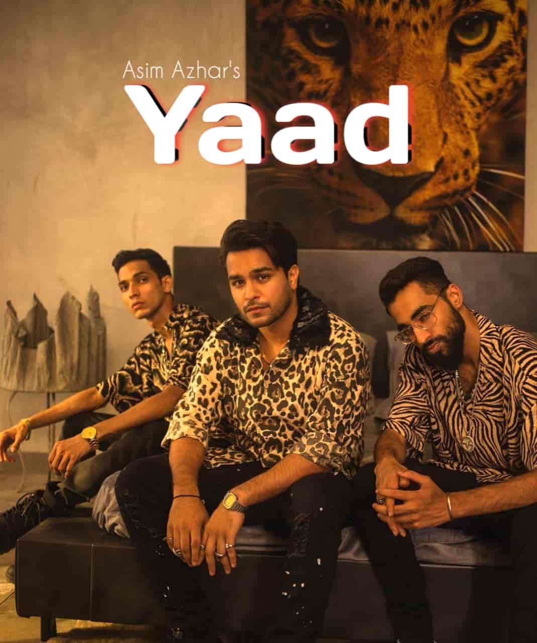 Yaad Lyrics Asim Azhar