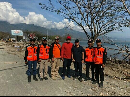 Walikota Binjai Bersama APEKSI Serahkan Bantuan ke Palu