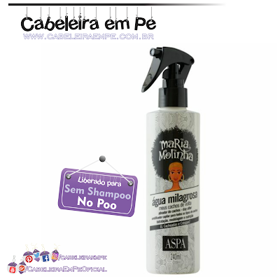 Água Milagrosa Maria Molinha - Aspa
