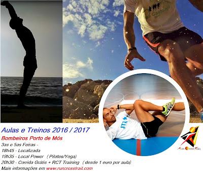 Aulas e Treinos Corrida - Ginásio - Desporto Porto de Mós - 2016-2017 RCT Training