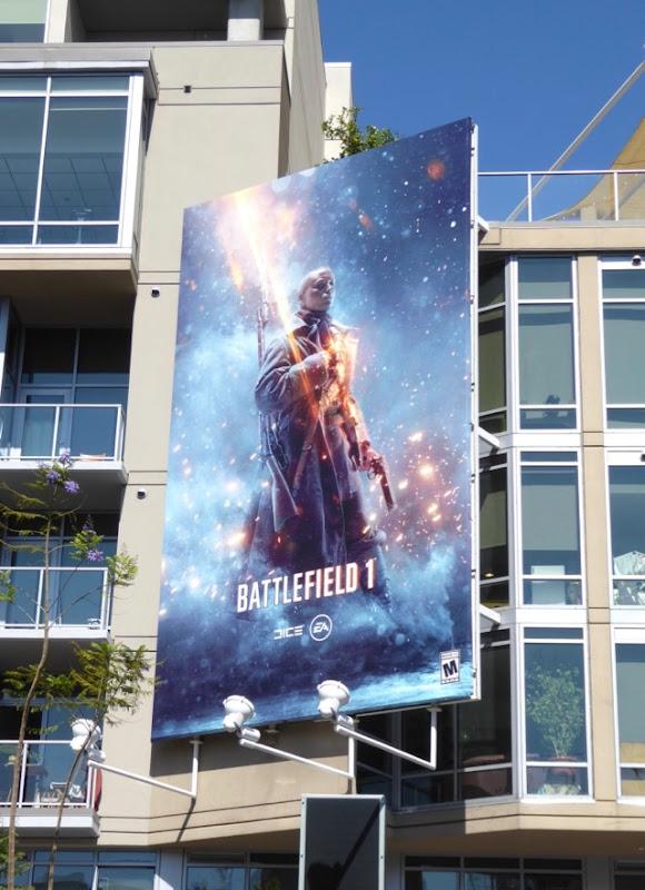 Battlefield 1 video game billboard