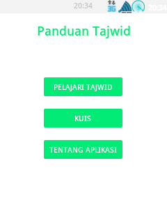 Source Code Aplikasi Android Panduan Lengkap Tajwid