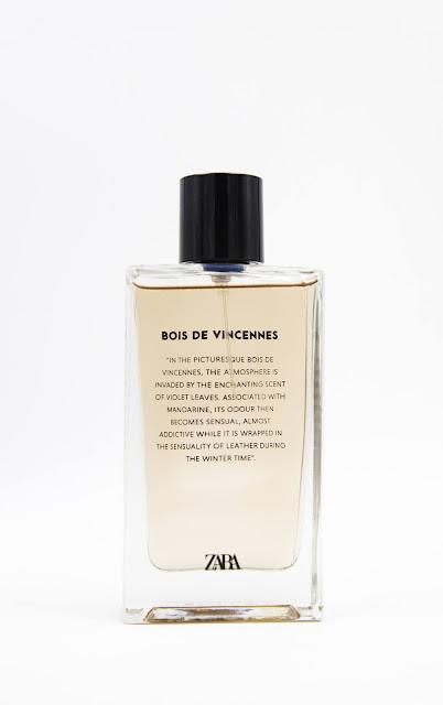 zara bois de vincennes avis, zara bois de vincennes parfum, parfum bois de vincennes zara, parfums zara, zara perfume, bois de vincennes zara, parfum féminin, blog parfum, perfumes, perfume blog, parfums, meilleur parfum femme