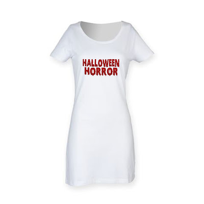 T-Shirt Dress Halloween Horror