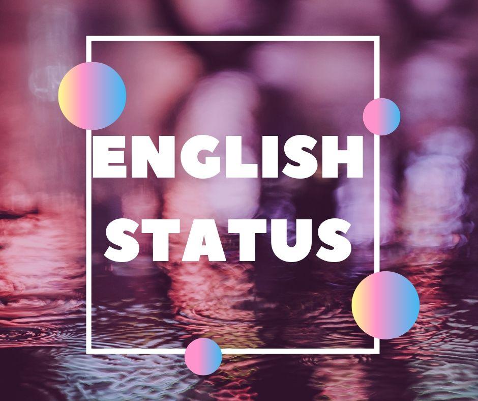 english status 2019