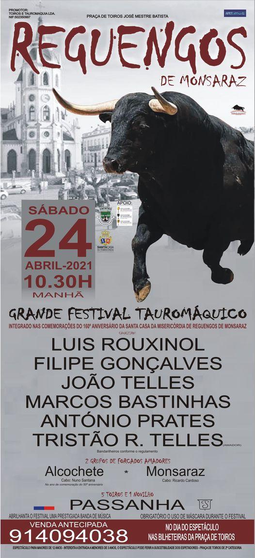 Reguengos de Monsaraz inaugura Temporada a 24 de Abril com festival de luxo