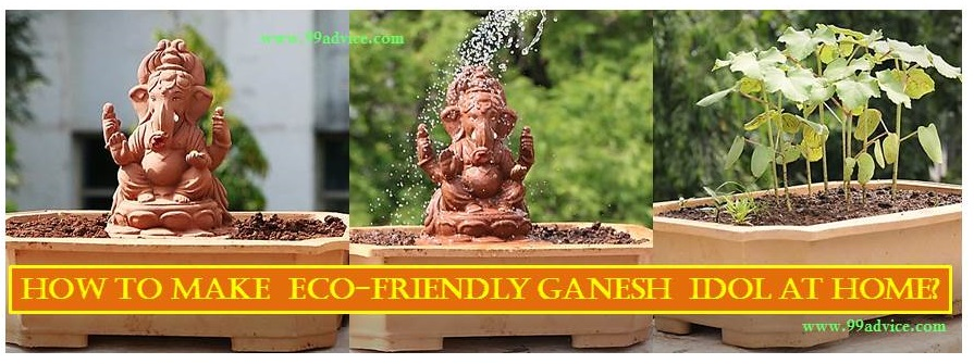 How to Make Eco-Friendly Ganesh Idol at Home?