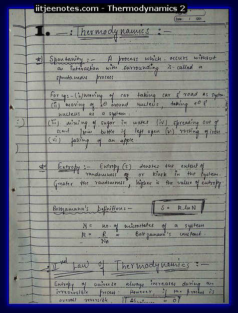 thermodynamics questions1