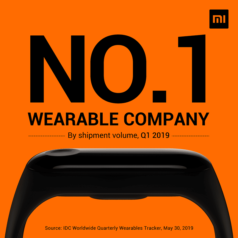 IDC: Xiaomi is now the number 1 wearables company!
