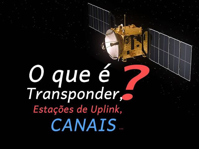 transponder, Estações de Uplink, Canais