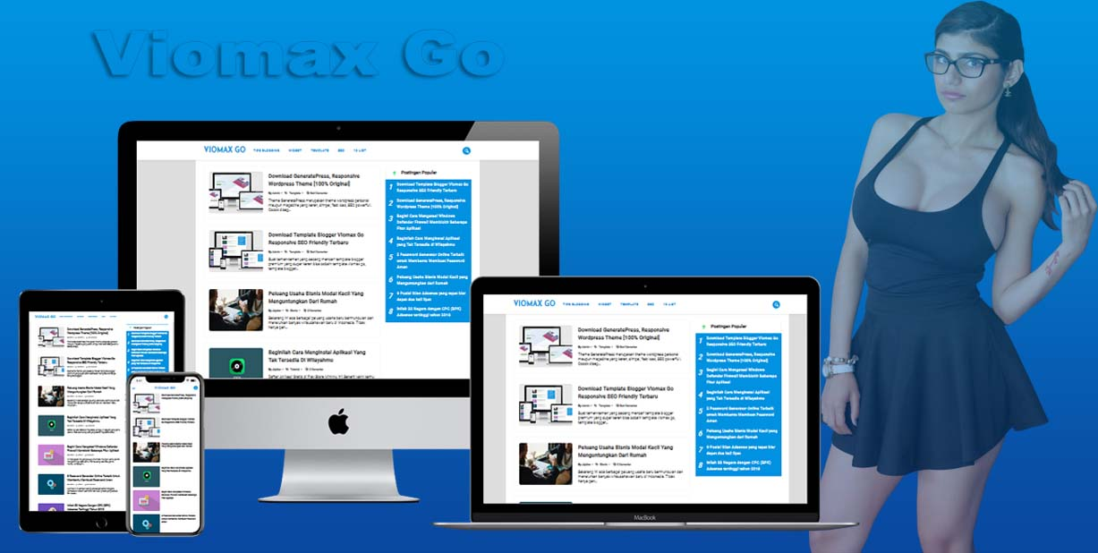 Vionaxigo New Update Blogger Template