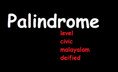 Check if the string is Palindrome