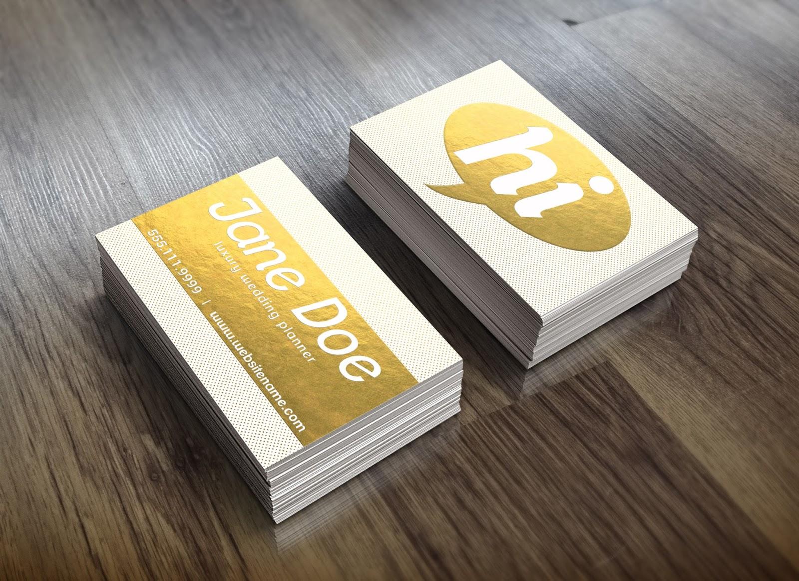 Foil business cards business card tips foil business cards colourmoves