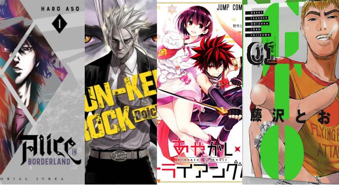 "Licencia Manga: Editorial Ivrea licencia ""Alice in borderland"", ""Sun-Ken Rock"", ""Ayakashi Triangle"" y ""Great Teacher Onizuka"""
