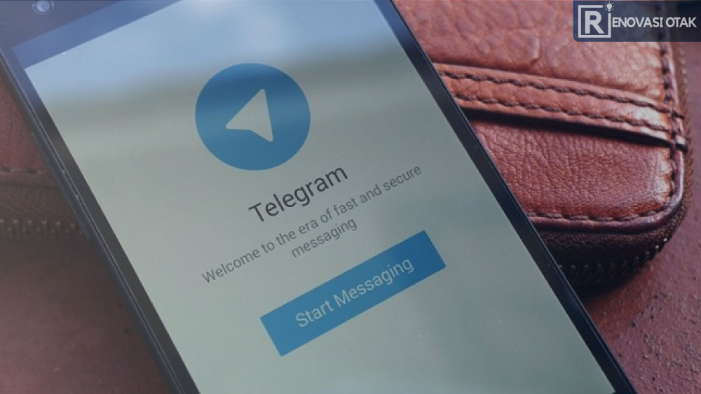 hapus kontak telegram permanen