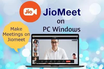 Jiomeet on PC Windows