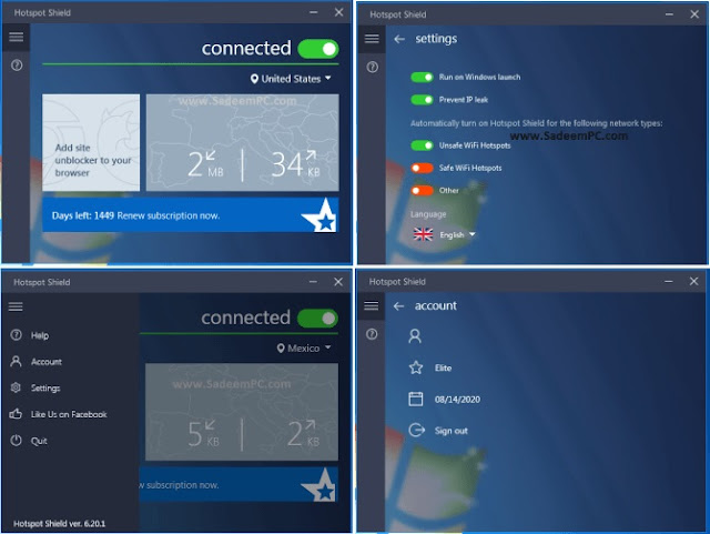 Hotspot Shield VPN Elite Crack Patch Full -