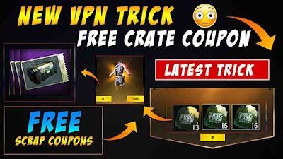 Get Free Scrap Coupon In PUBG Mobile