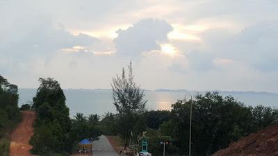 Gerbang Masuk Pantai Melayu Barelang Batam