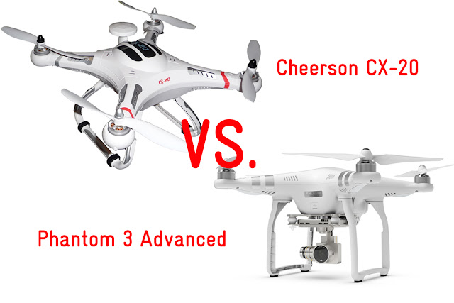 Cheerson CX20 - DJI Phantom