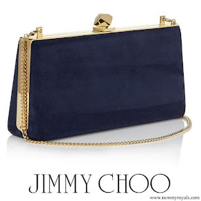 Kate Middleton carried Jimmy Choo Celeste clutch