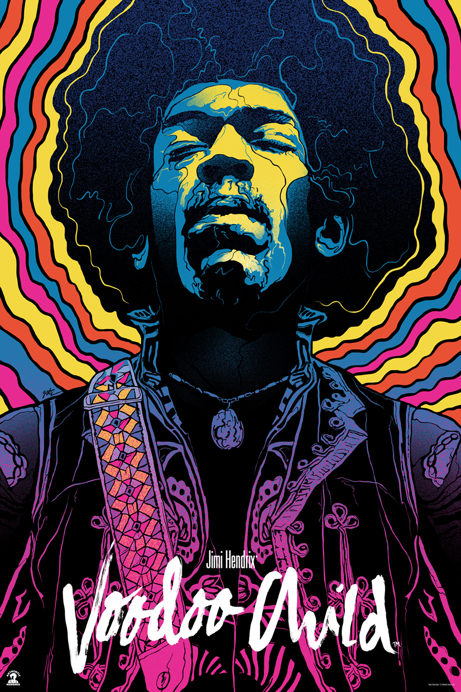 Inside the rock poster frame blog gabz jimi hendrix for Poster prints for sale