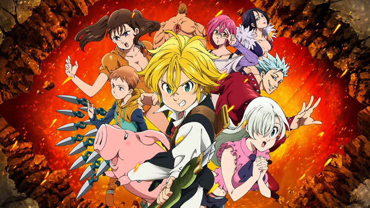 Anime Like Seven Deadly Sins (Nanatsu no Taizai)
