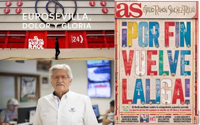"""El documental """"Eurosevilla: Dolor y gloria"""", primer premio de Los Blázquez 2020"""