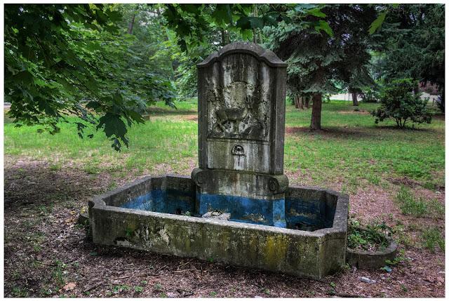 Brunnen Tiergartenhof Zeitz
