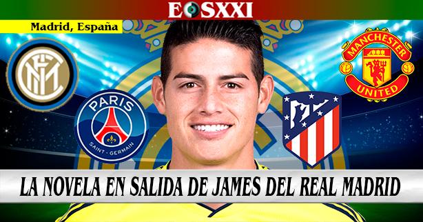 A Inglaterra, Italia o Francia llegaría James Rodríguez si no sale de España