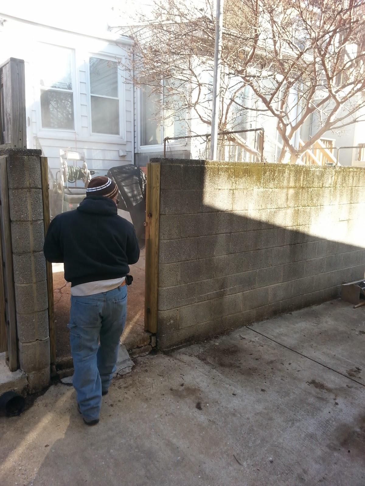 custom stoneworks design inc parking pad in canton baltimore city. Black Bedroom Furniture Sets. Home Design Ideas