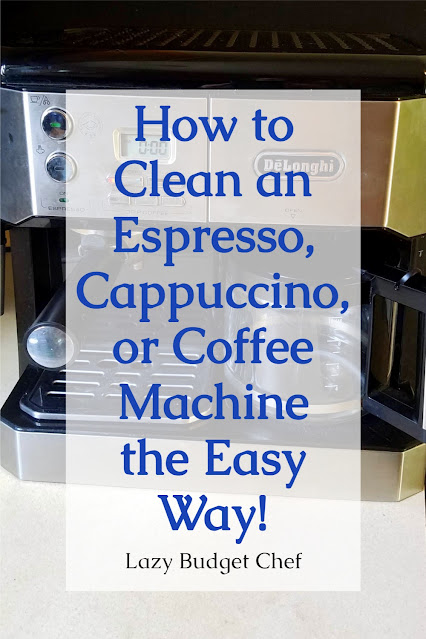 how to clean a coffee maker machine