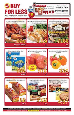 Buy For Less Weekly Ad September 3 - 9, 2019