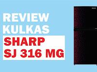 Review Kulkas Sharp SJ 316 MG, Harga 3 Jutaan