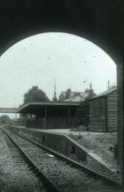 Gosport Road station through bridge