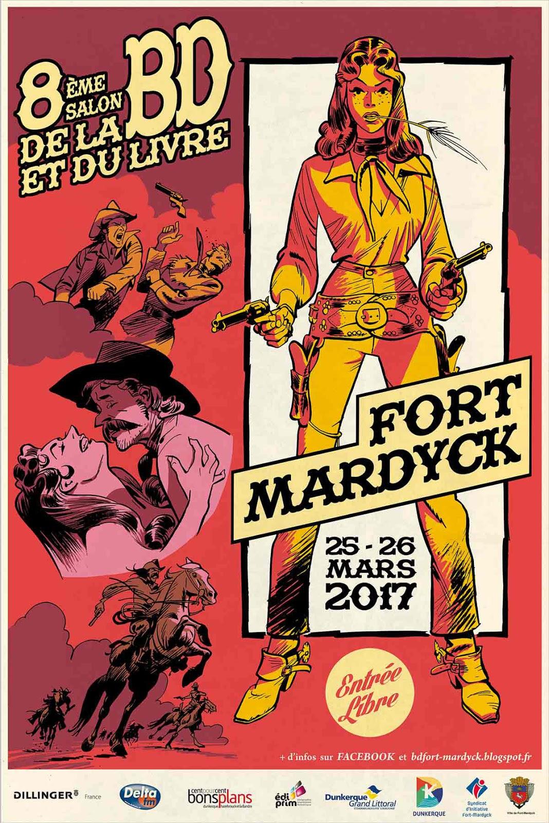 Salon de la bd et du livre de fort mardyck 2017 for Salon de la bd 2017