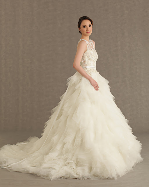 Vivian Wedding Gown: The Veluz Bride: RTW GOWN : VIVIAN