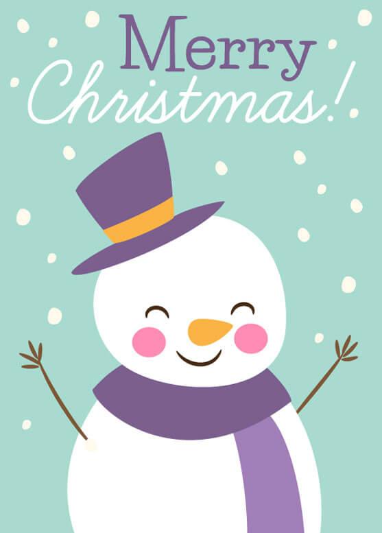 free printable photo christmas cards download