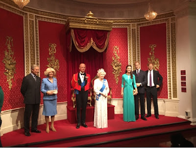 Madame Tussauds royal family