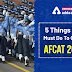 5 Things You Must Do To Crack AFCAT 2020